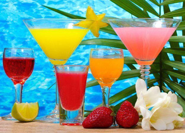 летние коктейли