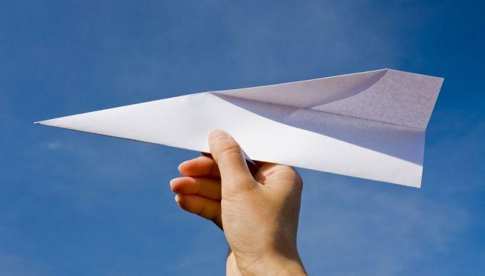 Как делать самолетик