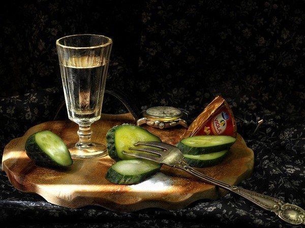 Как лучше пить водку
