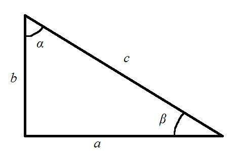 Как найти периметр прямоугольного треугольника