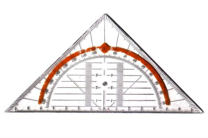 Как найти углы треугольника по сторонам