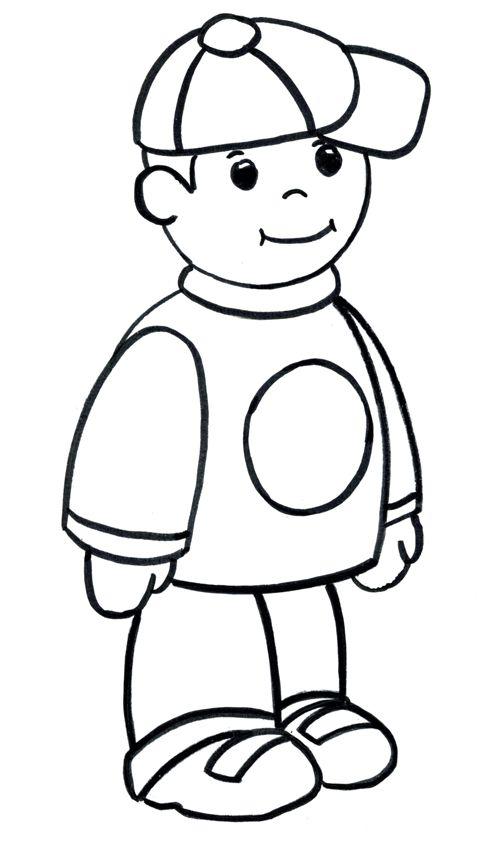 Как нарисовать мальчика