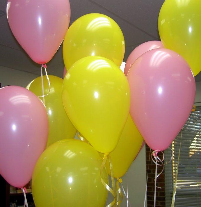 Как оформить квартиру шарами