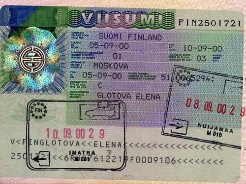 Как открыть визу в финляндию