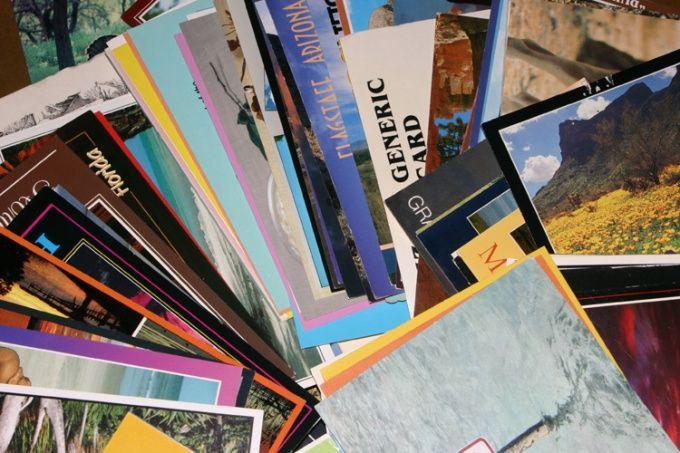 Как отправить поздравительную открытку