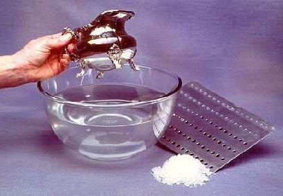 Как почистить домашнее серебро