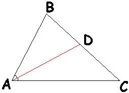 Как построить биссектрису треугольника