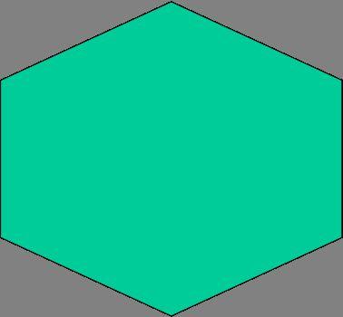Как правильно строить шестиугольник