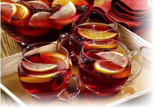 Как приготовить чай-пунш