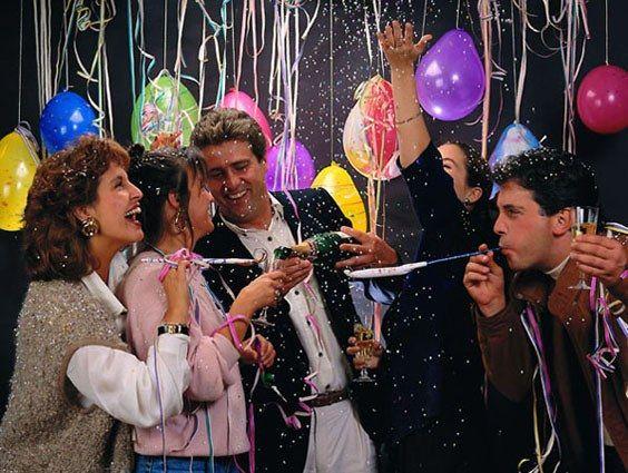 Как провести новый год с друзьями