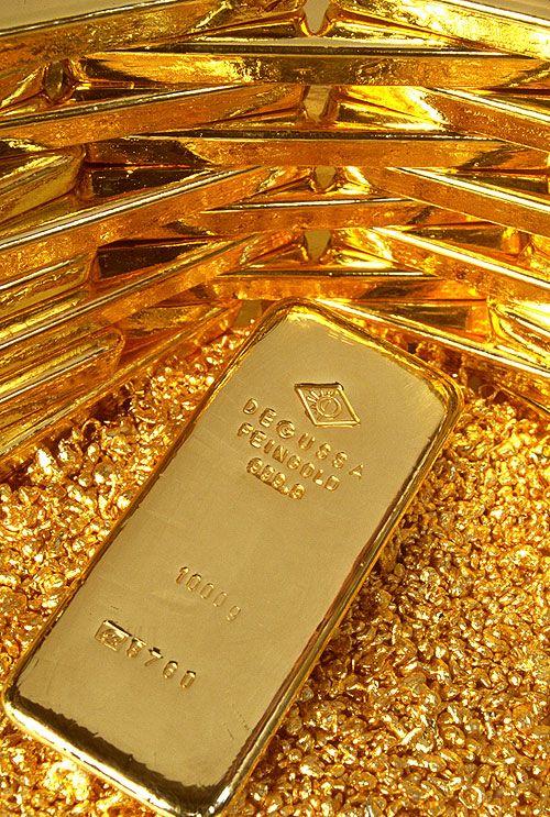 Как расплавить золото