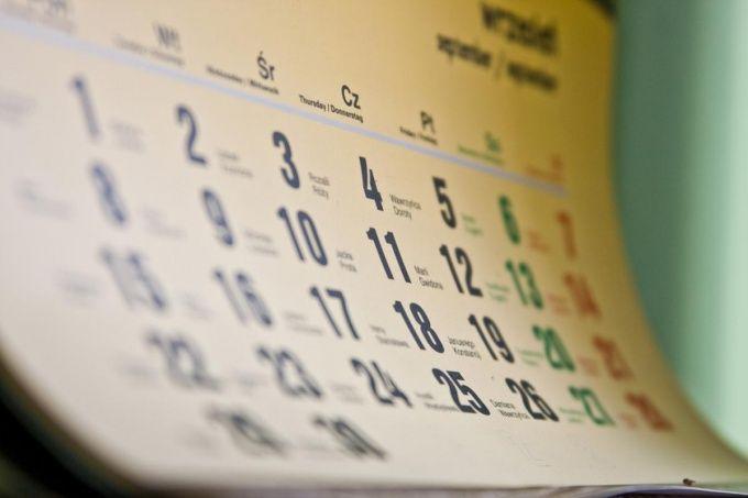 Как рассчитать дни отпуска