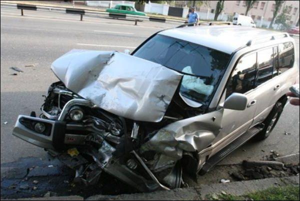 Как разбить машину