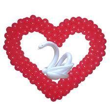 Как сделать сердце из воздушных шаров