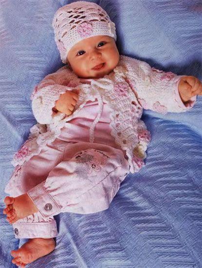 Как вязать для новорожденных