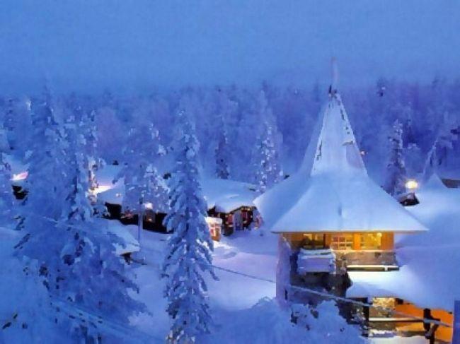 Как встретить новый год в финляндии