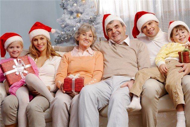 Как встретить новый год в семье