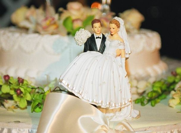 Оригинальные идеи для свадебного торта