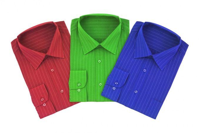 Как складывать рубашку