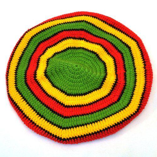 Как связать шапку растамана