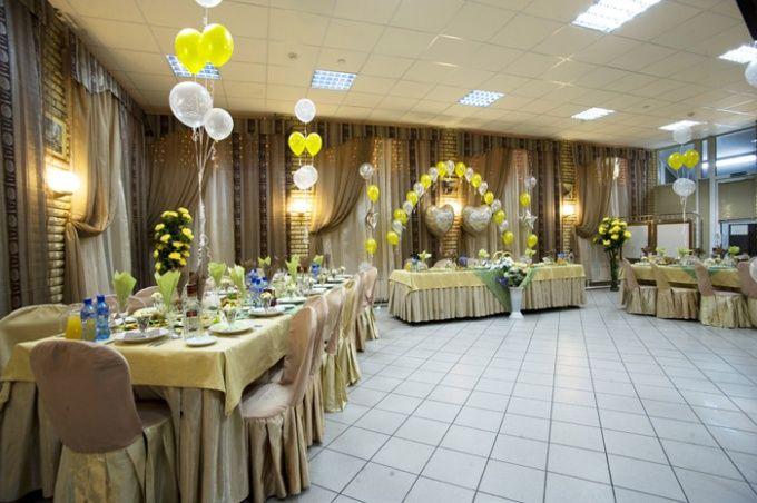 Как украсить зал к свадьбе