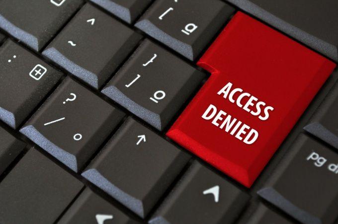 Как заблокировать доступ к сайту